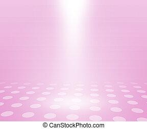 rosa, semplice, stanza