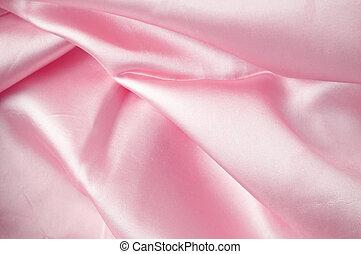 rosa, seta, fondo