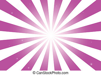 rosa, signalljus, glanser, runda