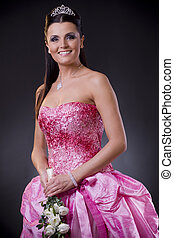 rosa, sposa