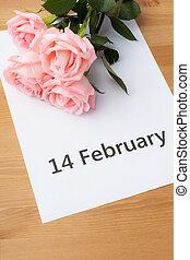 rosa subió, tarjeta obsequio