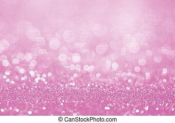 rosa, vara, produkt, använd, kampanj, tillfällen, -, den, yta, eller, bokeh, kan, bakgrund, lätt, befordran, glitter, röja, speciell