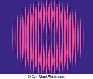 rosa, verticale, effect., modello, pendenza, halftone, viola, stripes., linea