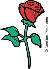rosa, vetorial