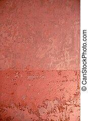 rosa, viejo, pared, textura, pintura, grunge, viejo