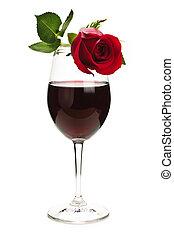 rosa, vino rosso