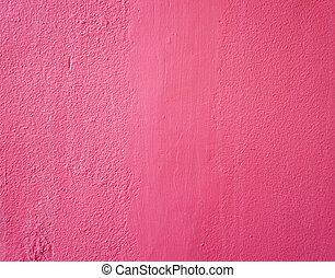 rosa, wand, weinlese, -, beschaffenheit, zement, hintergrund, marmor