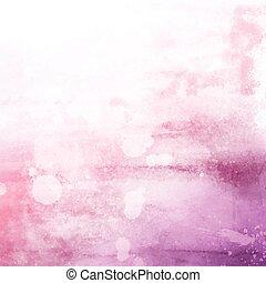 rosa, watercolour, struttura, fondo