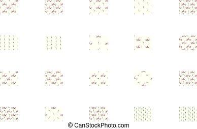 rosafarbene blume, arabis, gruß, anordnung, vektor, violett, lilie, karte