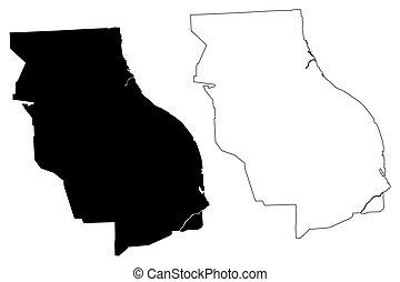 Rosario City (Argentine Republic, Santa Fe Province) map ...