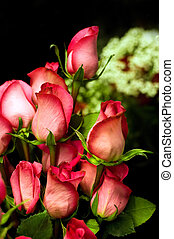 rosas, arranjo