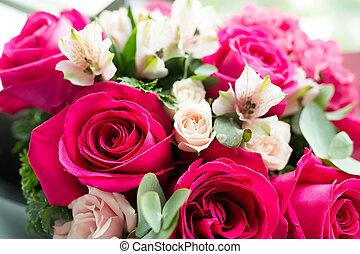 rosas rojas, ramo