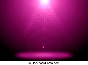 rose, étape, plancher, flamme, résumé, éclairage,  image