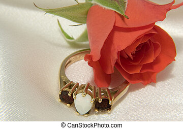 Rose and ring