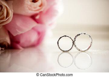 rose, anelli