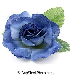 rose, artificiel