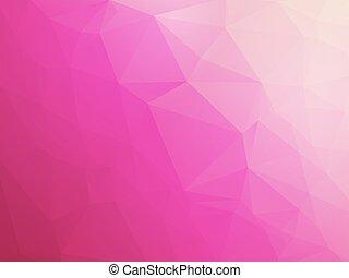 rose, blanc, amour, fond, violet