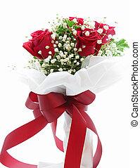 rose, bouquet