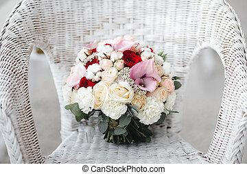 Bouquet Fleurs Coton Conserve Mariage Bouquet Conserve Fond