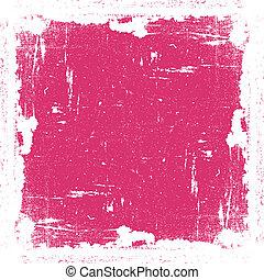 rose, cadre, textured