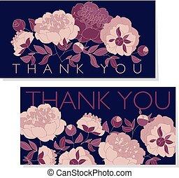 rose color peony flower on black background vector illustration. sketch hand drawn floral pattern for card, wedding invitation, surface design