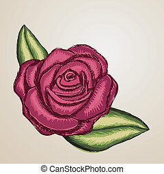 rose design