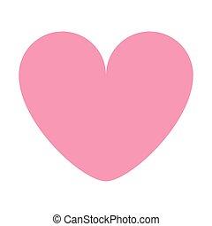 Boite Coeur Cadeau Rose Dessin Anime Icone Boite Coeur