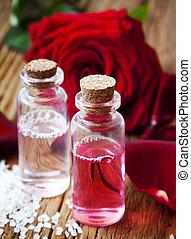 Rose Essence Bottles