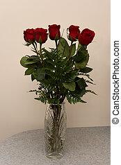 rose, fleurs, 04