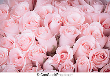 rose flower bouquet vintage background