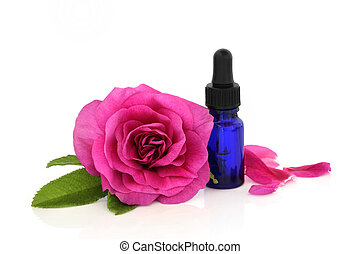 Rose Flower Essential Oil
