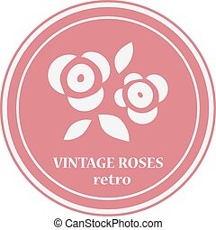 Rose flowers logo.