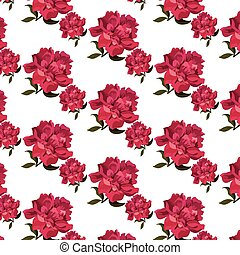 Rose flowers pattern background