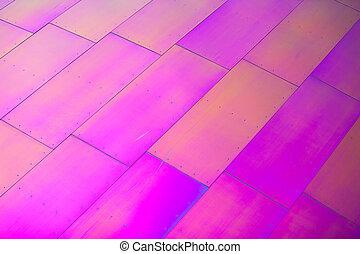 rose, formes, chaud, diagonal, rectangulaire