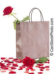 Rose in a bag