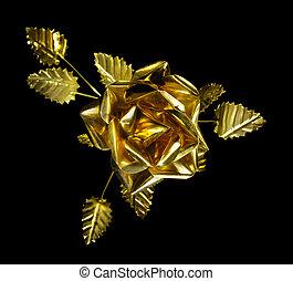 rose, métal, jaune