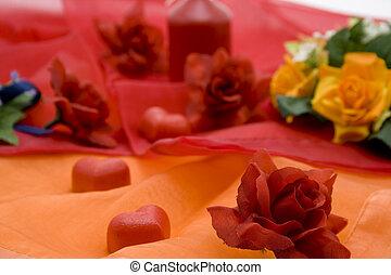 Rose mit heart
