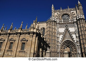 Rose of Cathedral of Seville, Spain