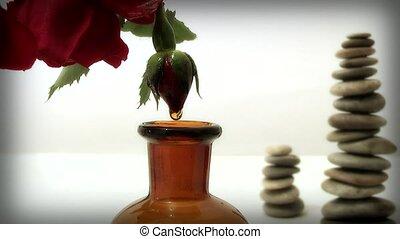 rose oil,