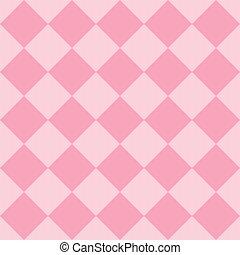 rose, pastel, diamant, schéma structure, seamless