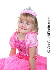 rose, petite princesse