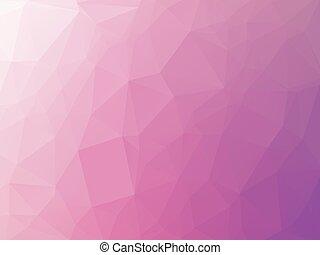 rose, pourpre, triangulaire, fond