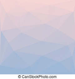 Rose quartz and serenity - Blend of colors rose quartz and...
