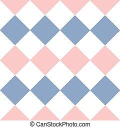 Lines Dots Rose Quartz Serenity White Diamond Background Vector