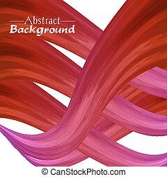 rose, résumé, créatif, couleurs, fond, ton, rouges, design.