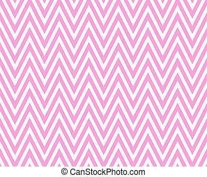 rose, reprise, schéma structure, zigzag, fond, textured, blanc