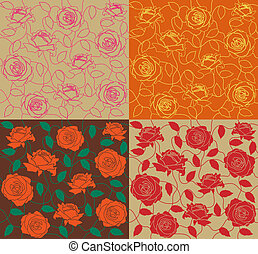 Rose seamless set