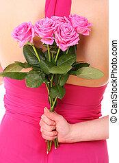 rose, surprise