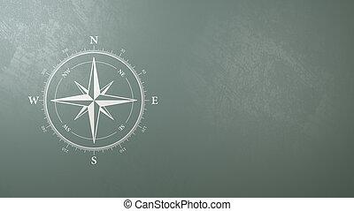 rose, symbol, wind, copyspace