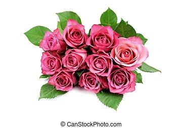 rose, tas